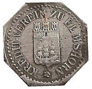 5 Pfennig (Elmshorn) [Private, Schleswig-Holstein, Kredit-Verein] – obverse