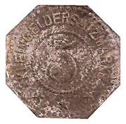 5 Pfennig (Elmshorn) [Private, Schleswig-Holstein, Kredit-Verein] – reverse