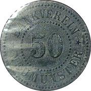 50 Pfennig (Neumünster) [Private, Schleswig-Holstein, Bankverein] – obverse