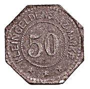 50 Pfennig (Frankenhausen) [Stadt, Schwarzburg-Rudolstadt] – reverse