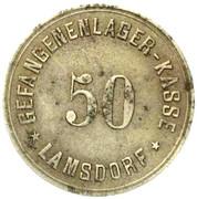 50 Pfennig (Lamsdorf) [POW, Silesia] – obverse
