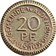 20 Pfennig (Waldenburg in Schlesien) [Stadt, Schlesien] – obverse
