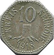 10 Pfennig (Neurode) [Kreis, Schlesien] – obverse