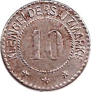 10 Pfennig (Arnstadt) [Stadt, Schwarzburg-Sondershausen] – reverse