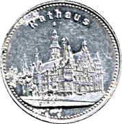 15 Pfennig (Breslau) [Strassenbahn, Silesia] – reverse
