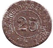 25 Pfennig (Haynau) [Stadt, Schlesien] – reverse