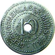 10 Pfennig (Münster) [POW, Westfalen, Münster II] – obverse
