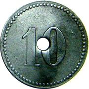 10 Pfennig (Münster) [POW, Westfalen, Münster II] – reverse