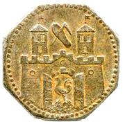 50 Pfennig (Suhl) [Stadt, Thüringen] – reverse