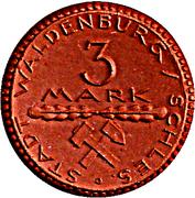 3 Mark (Waldenburg in Schlesien) [Stadt, Schlesien] – reverse