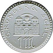 1 Mark (Grünberg) [Stadt, Schlesien] – obverse