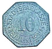 10 Pfennig (Neumarkt) [Stadtsparkasse, Schlesien] – reverse