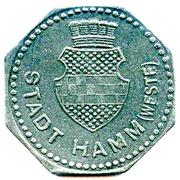 50 Pfennig (Hamm) [Stadt, Westfalen] – obverse