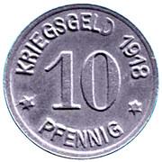 10 Pfennig (Neheim) [Stadt, Westfalen] – reverse