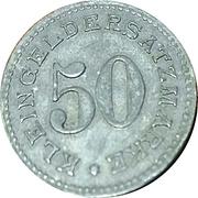 50 Pfennig (Arnsberg) [Stadt, Westfalen] – reverse