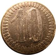 10 Pfennig (Heilbronn) [Stadt, Württemberg] – reverse