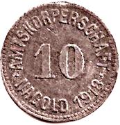 10 Pfennig (Nagold) [Amtskörperschaft, Württemberg] – reverse