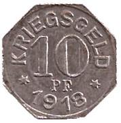 10 Pfennig (Gaildorf) [Oberamtsbezirk, Württemberg] – reverse