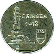 10 Pfennig (Ebingen) [Stadt, Württemberg] – obverse