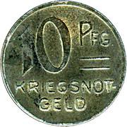 10 Pfennig (Ebingen) [Stadt, Württemberg] – reverse
