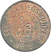 ½ Mark (Ellwangen) [Amtskörperschaft, Württemberg] – reverse