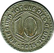 10 Pfennig (Calw) [Stadt, Württemberg] – reverse