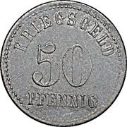 50 Pfennig (Isny im Allgäu) [Stadt, Württemberg] – reverse