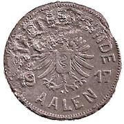50 Pfennig (Aalen) [Stadt, Württemberg] – obverse