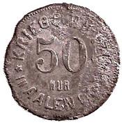 50 Pfennig (Aalen) [Stadt, Württemberg] – reverse
