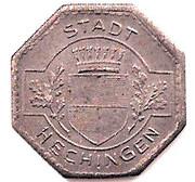 ½ Mark (Hechingen) [Stadt, Hohenzollern] – obverse