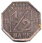 ½ Mark (Hechingen) [Stadt, Hohenzollern] – reverse