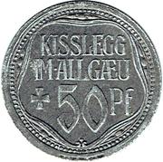 50 Pfennig (Kisslegg im Allgäu) [Stadt, Württemberg] – obverse