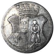 10 Pfennig (Münchberg) [Stadt, Bayern] – reverse