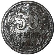 50 Pfennig (Hattingen) [Stadt, Westfalen] – reverse