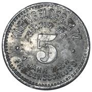 5 Pfennig (Meuselwitz) [Stadt, Sachsen-Altenburg] – reverse