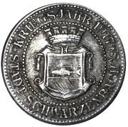 10 Pfennig (Schwarzbachen an der Saale) [Stadt, Bayern] – obverse