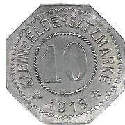 10 Pfennig (Rosenheim) [Stadt, Bayern] – reverse