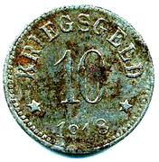 10 Pfennig  (Lohr am Main) [Stadt, Bayern] – reverse