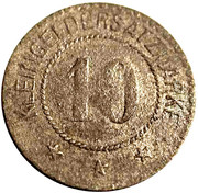 10 Pfennig (Weiden) [Stadt, Bayern] – reverse