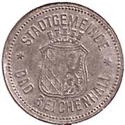 10 Pfennig (Bad Reichenhall) [Stadt, Bayern] – obverse