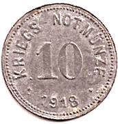 10 Pfennig (Bad Reichenhall) [Stadt, Bayern] – reverse