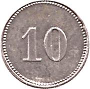 10 Pfennig (Sonthofen) [Marktgemeinde, Bayern] – reverse