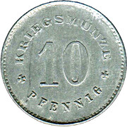 10 Pfennig (Hauzenberg) [Darlehenskasse, Bayern] – reverse