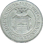 10 Pfennig (Schwarzbach an der Saale) [Stadt, Bayern] – obverse
