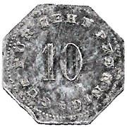 10 Pfennig (Bad Tölz) [Stadtgemeinde, Bayern] – reverse