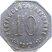 10 Pfennig (Weilheim) [Stadt, Bayern] – reverse