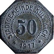 50 Pfennig (Kulmbach) [Stadt, Bayern] – obverse