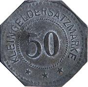 50 Pfennig (Kulmbach) [Stadt, Bayern] – reverse