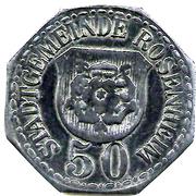 50 Pfennig (Rosenheim) [Stadt, Bayern] – obverse