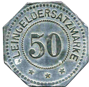 50 Pfennig (Rosenheim) [Stadt, Bayern] – reverse